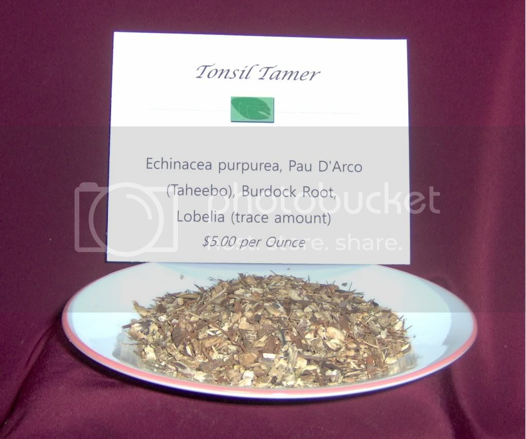 Lobelia,Echinacea purpurea,Pau D'Arco,Burdock Root,herbal tea,bulk tea,infusion,decoction